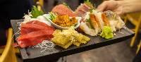 Assorted fresh sashimi in Tokyo   Felipe Romero Beltran
