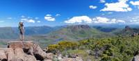Looking across the Du Cane Range from the summit of the Acropolis | Chris Buykx