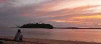 Sunset over the Vava'u Islands   Sherry Wootton