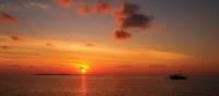 Orange sunset over Vashugiri | Deb Wilkinson